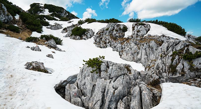 Benediktenwand Altschnee 2