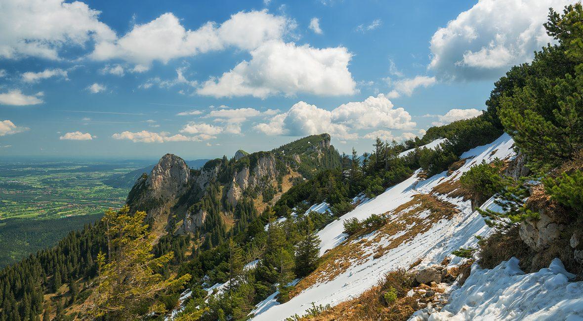 Benediktenwand Gipfelpanorama
