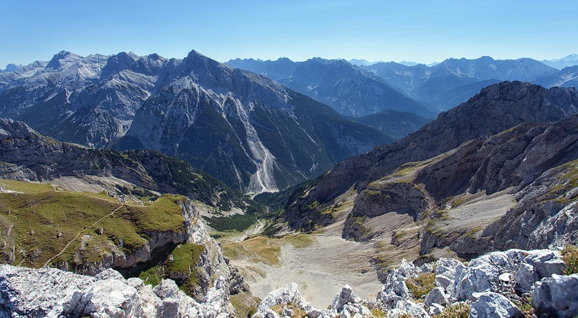 Mittenwalder Höhenweg und Klettersteig